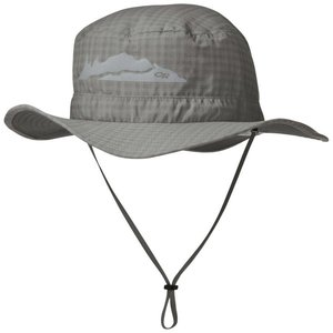 Outdoor Research HELIOS SUN HAT, KIDS' 8 PEWTER