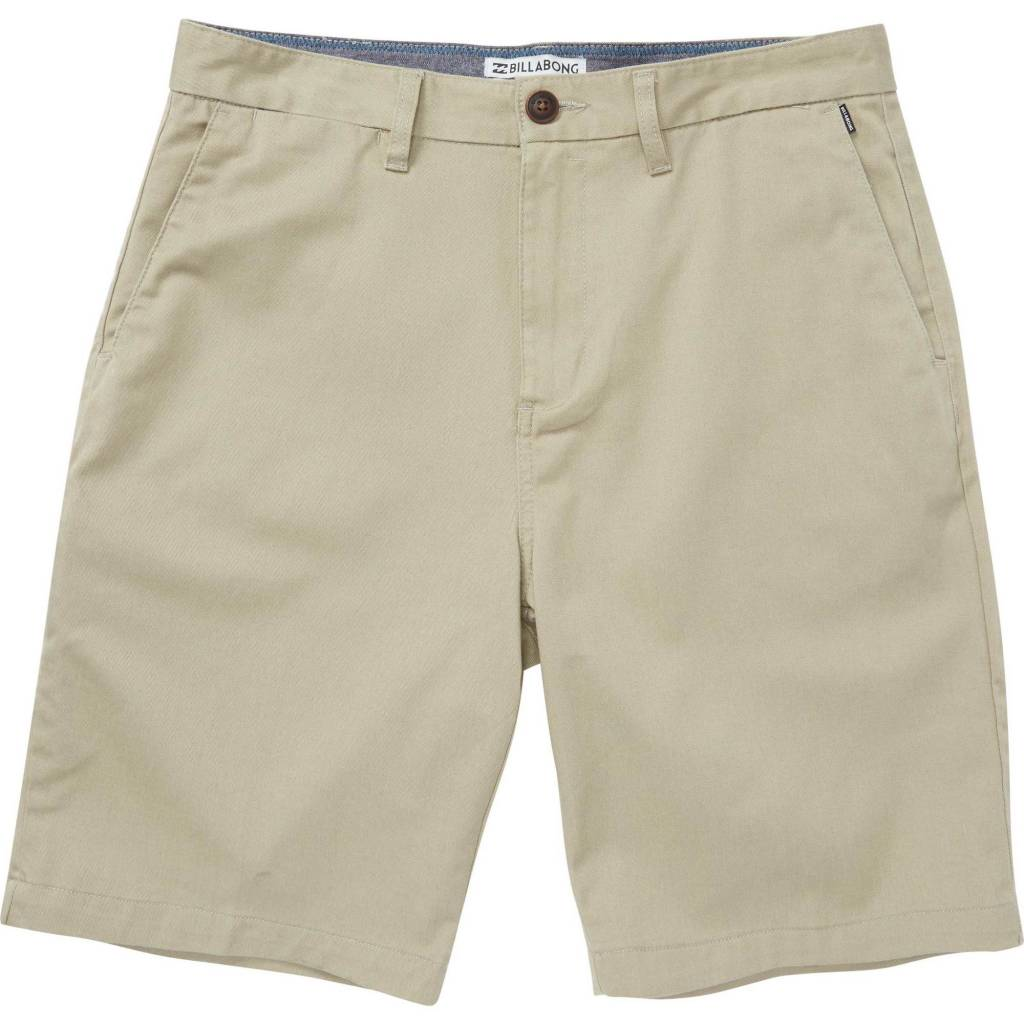Billabong Carter Stretch Light Khaki Shorts Vital Outdoors