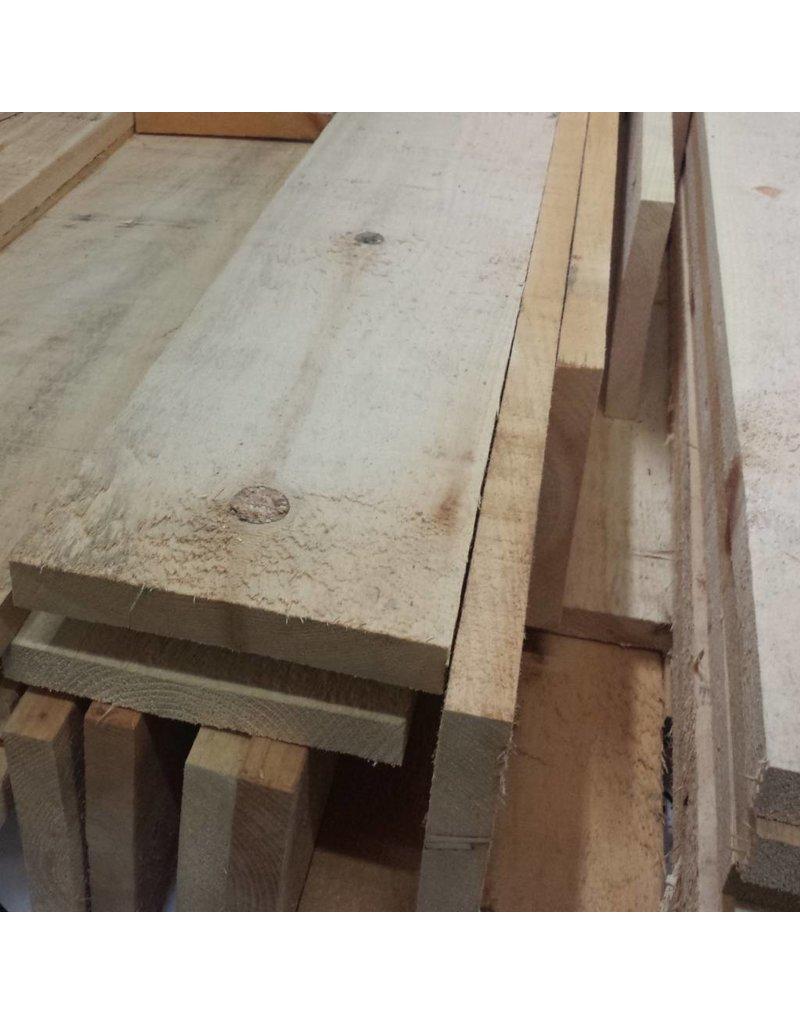 Le Marché du Bois Planche pin blanc brut 1&2 Com R.L