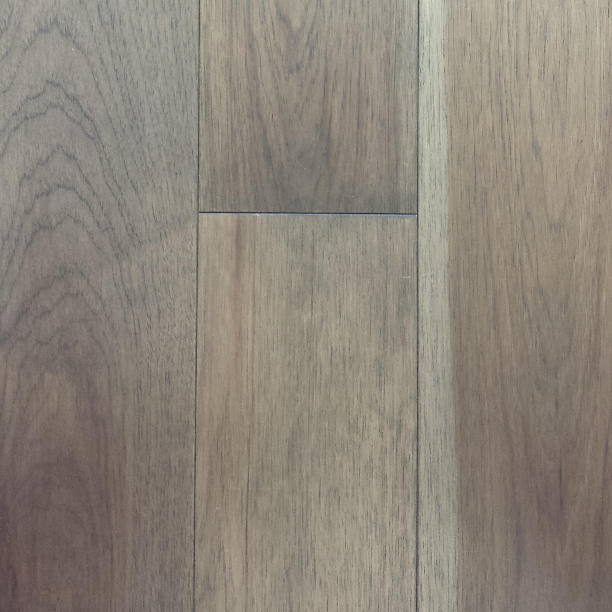 American Flooring Ingénierie hickory sélect naturel pré-verni mat