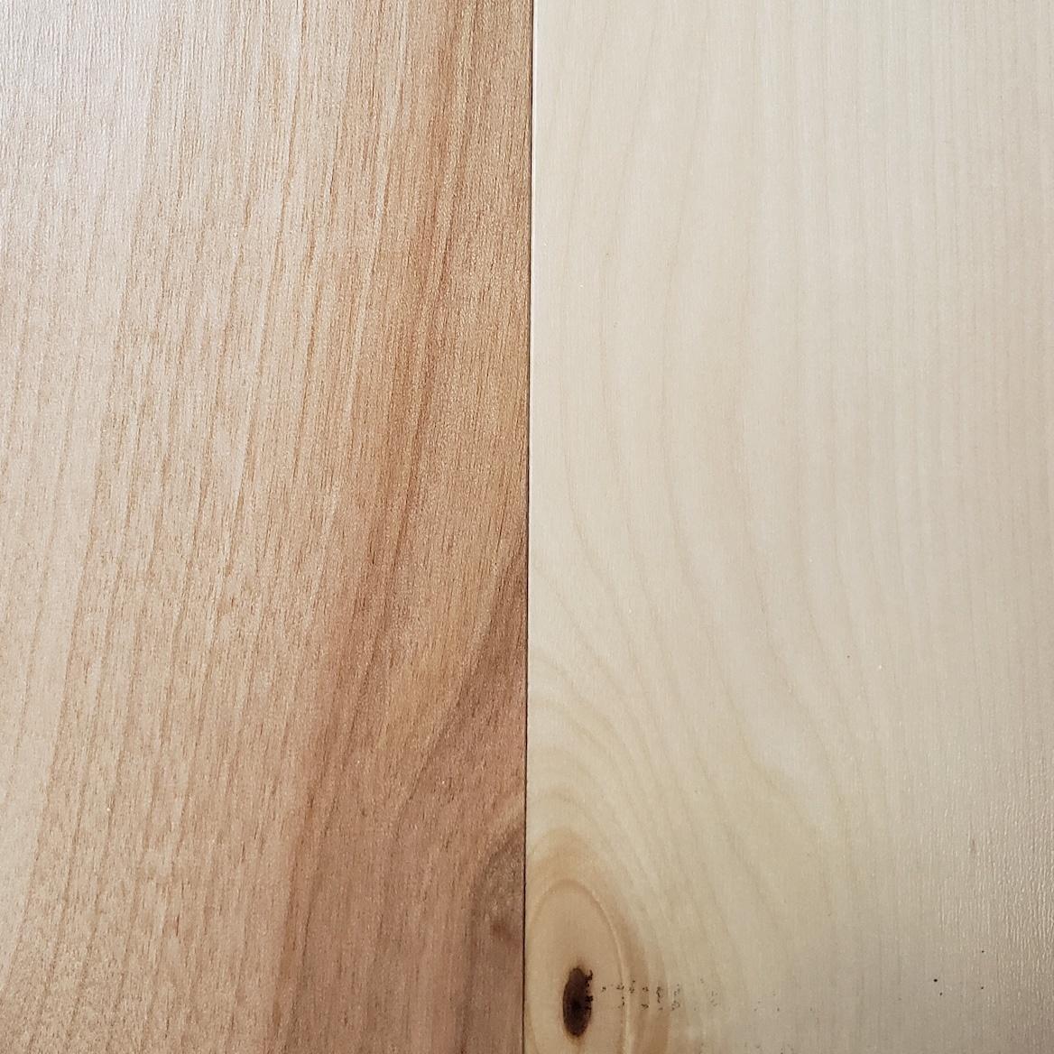 Mono Serra Boréale - Plancher merisier pré-verni