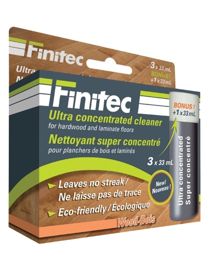 Groupe Finitec Nettoyant super concentré pour plancher de bois et stratifié - 3x33ml