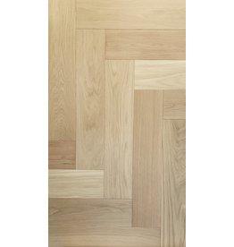 "American Flooring Ingénierie 3/4"" herringbone chêne blanc sélect naturel pré-verni mat"