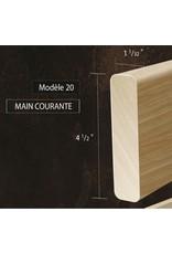 Composantes Lab-Co Inc Main courante coloniale grade naturel ou sélect