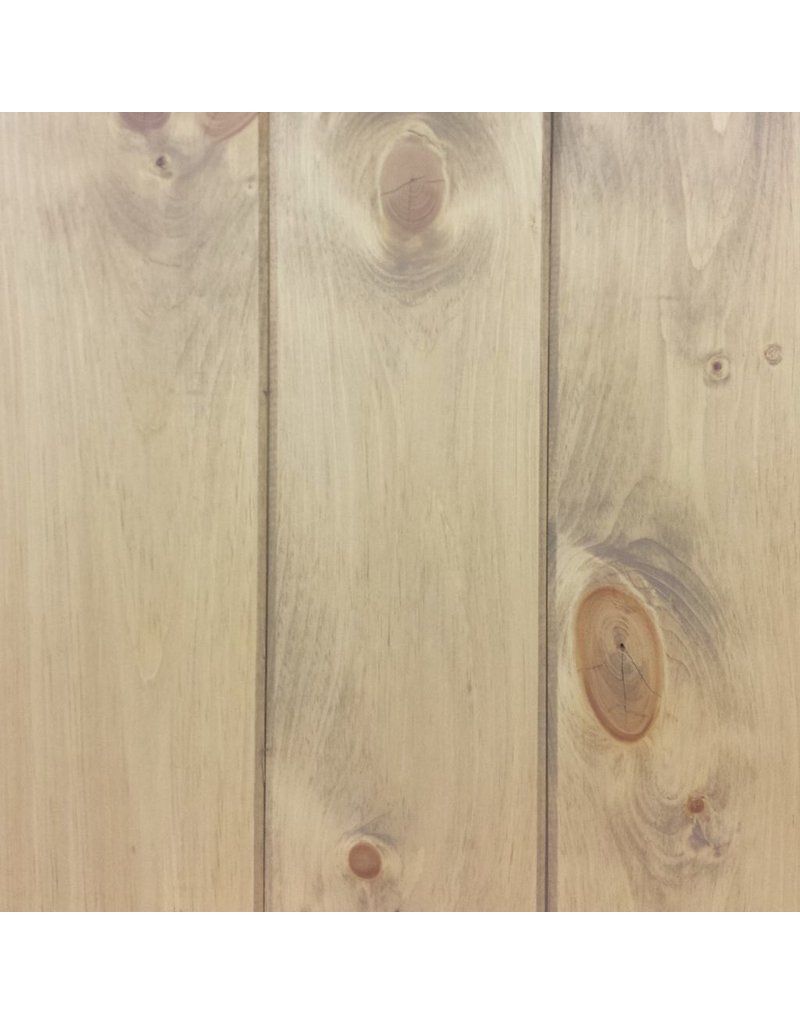 """Le Marché du Bois Lambris pin blanc pré-huilé grade branché 7 1/4"""""""