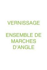 Le Marché du Bois Vernissage d'ensemble de marches d'angle 4 côtés