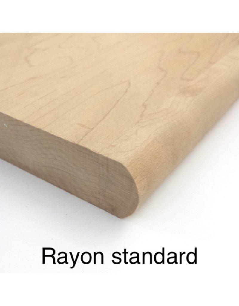 Composantes Lab-Co Inc Marche en bois grade naturel