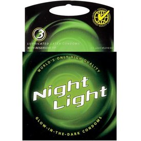 Night Light Glow Condoms 3-Pack