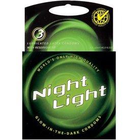 Night Light Glow Condoms 3-Pack