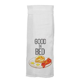 Twisted Wares Good In Bed Towel