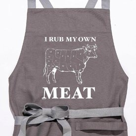 Twisted Wares I Rub My Own Meat Apron