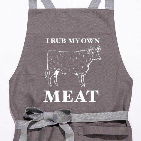 I Rub My Own Meat Apron
