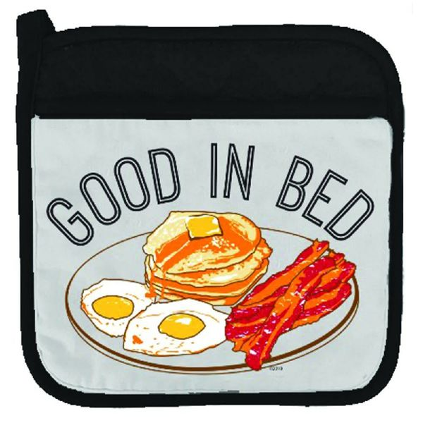 Twisted Wares Good In Bed Potholder