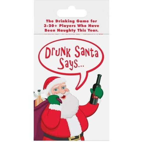 """Drunk """"Santa Says"""" Card Game"""