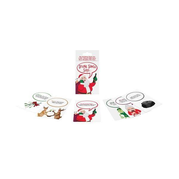 """Kheper Games Drunk """"Santa Says"""" Card Game"""