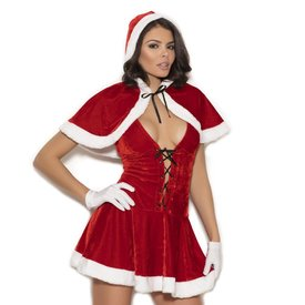 Elegant Moments Mrs Clause Hood and Dress