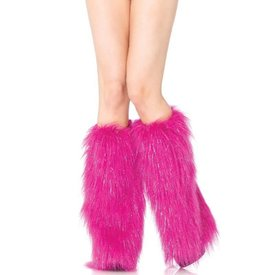 Leg Avenue Furry Lurex Leg Warmers