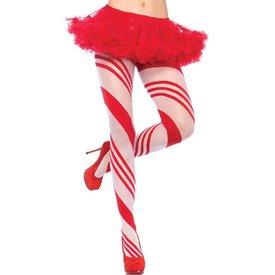 Leg Avenue Candy Striped Pantyhose