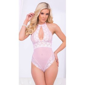 Escante Innocent Intentions Lacy Sheer Teddy