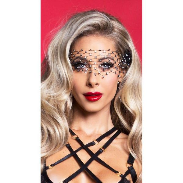 Starline Diamond Net Crystal Eye Mask