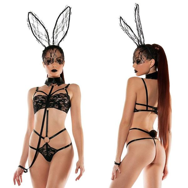 Starline Bunny Playsuit and Collared Leash