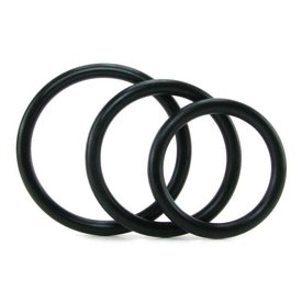 Sportsheets Sex and Mischief Nitrile Cock Ring 3 Pack
