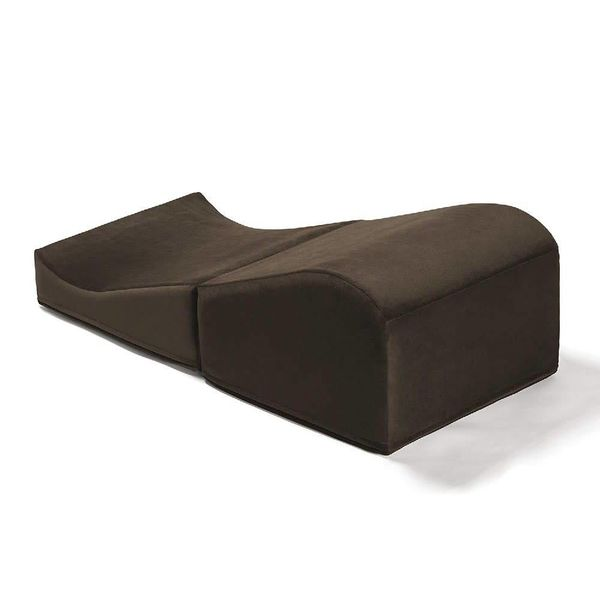 Liberator Flip Ramp Position Pillow - Microfiber Espresso