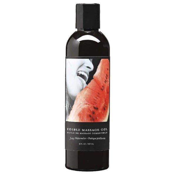 Earthly Body Edible Massage Hemp Oil Watermelon