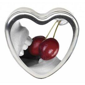 Earthly Body Edible Massage Hemp Candle - Cherry 4 oz