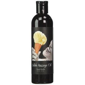 Earthly Body Edible Massage Hemp Oil Vanilla