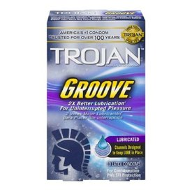 Trojan Groove Condom 10-pack
