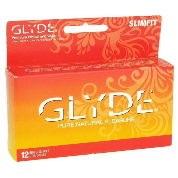 GLYDE Slimfit 12pk Condoms