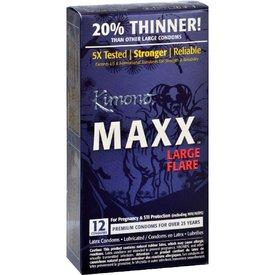 Kimono MaXX Flare Condom 12 pack