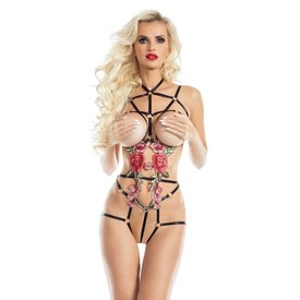 Ravewear Sugar and Spice Harness Playsuit