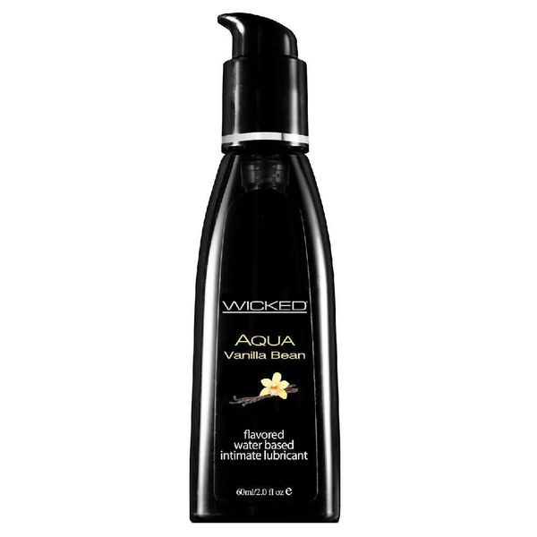 Wicked Sensual Care Aqua Vanilla Bean Lubricant 2oz