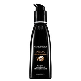 Wicked Sensual Care Wicked Aqua Cinnamon Bun Lubricant 2oz