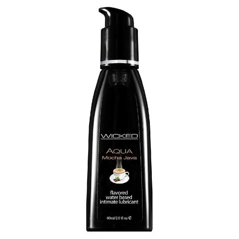 Wicked Aqua Mocha Java Lubricant 2oz
