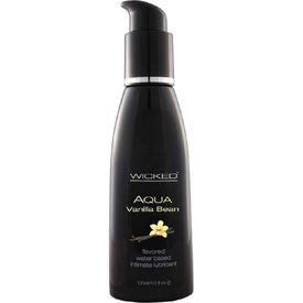 Wicked Sensual Care Aqua Vanilla Bean Lubricant 4oz