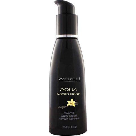 Wicked Aqua Vanilla Bean Lubricant 4oz