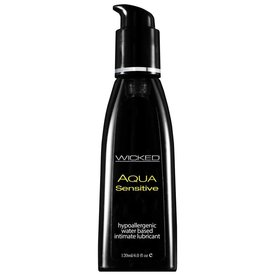 Wicked Aqua Sensitive Lubricant - 4oz