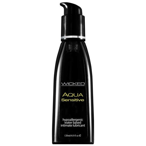 Aqua Sensitive Lubricant - 4oz