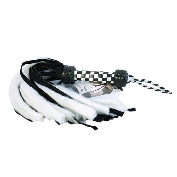 Ruff Doggie Styles Suede and Fluff Flogger