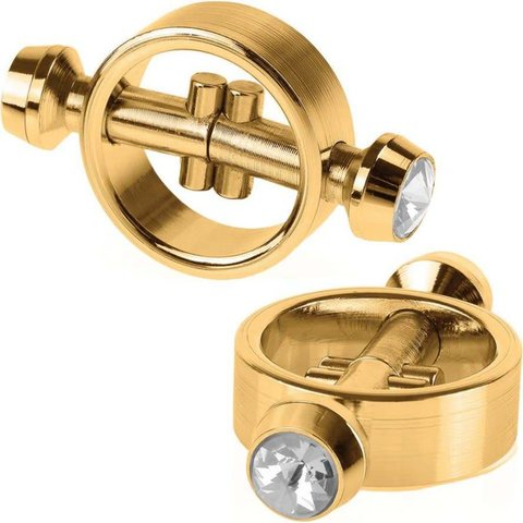 Gold Magnetic  Clamps - Gold