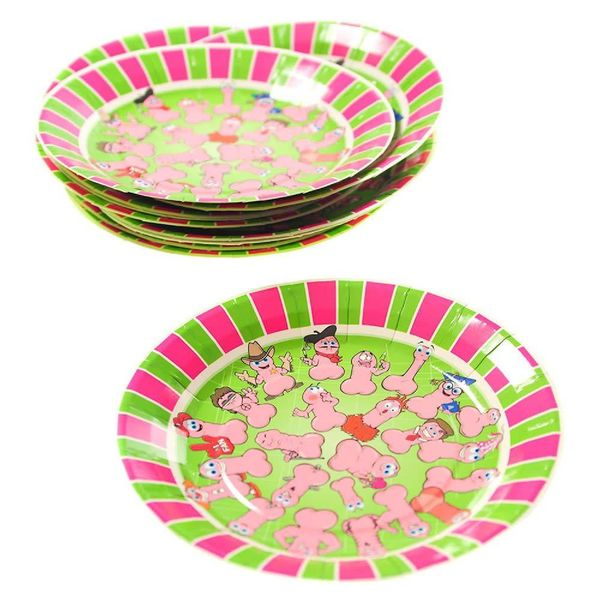 Wild Willy Plates
