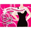Miss Bachelorette Sash - White
