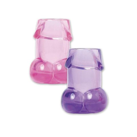 Bachelorette Party Pecker Shot Glasses Assorted Colors