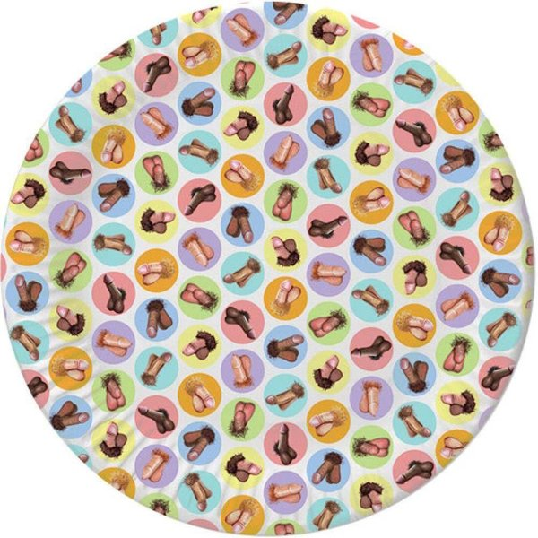 Candyprints Penis Plates 8 Pack
