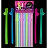 Glow Naughty Straws 8pk
