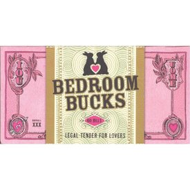 Bedroom Bucks Checkbook