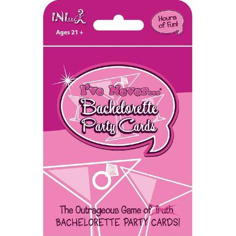 I've Never Bachelorette Party Cards